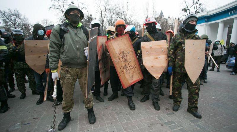 Про жертву беззбройних людей з дерев'яними щитами