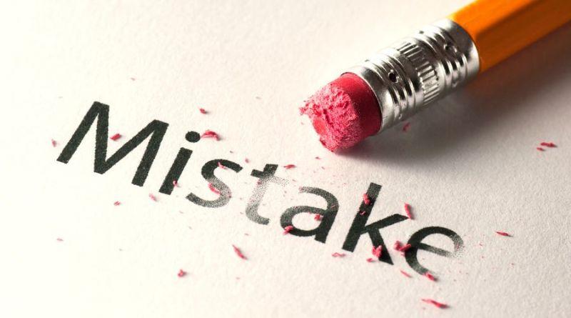 Характеризует систему не ошибка, а реакция на неё