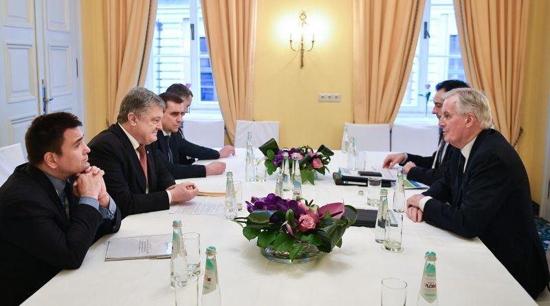Президент України зустрівся з Керівником Робочої групи з питань переговорів з Великою Британією