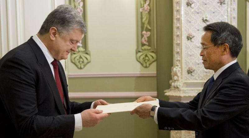 Президент України прийняв вірчі грамоти у послів низки іноземних держав (фото)