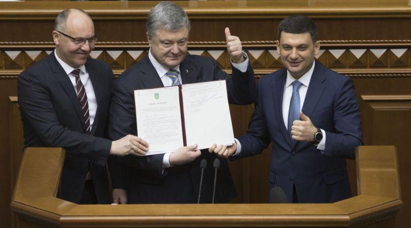 Президент підписав зміни до Конституції щодо стратегічного курсу України на набуття членства в ЄС та НАТО (відео)