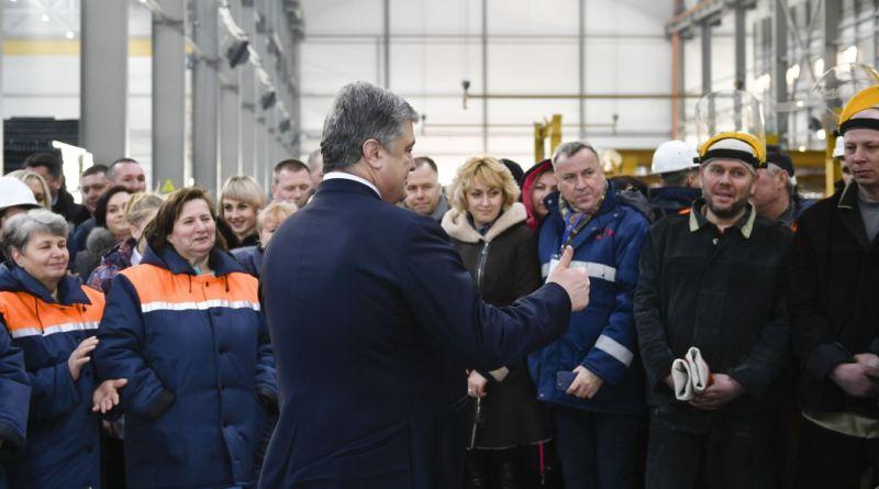 Робоча поїздка Президента до Київської області (фото, відео)