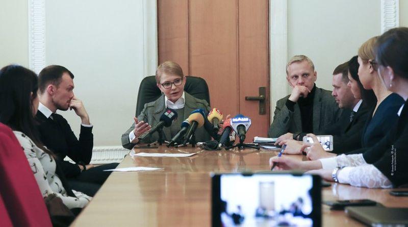 Антикорупціонери проти Тимошенко