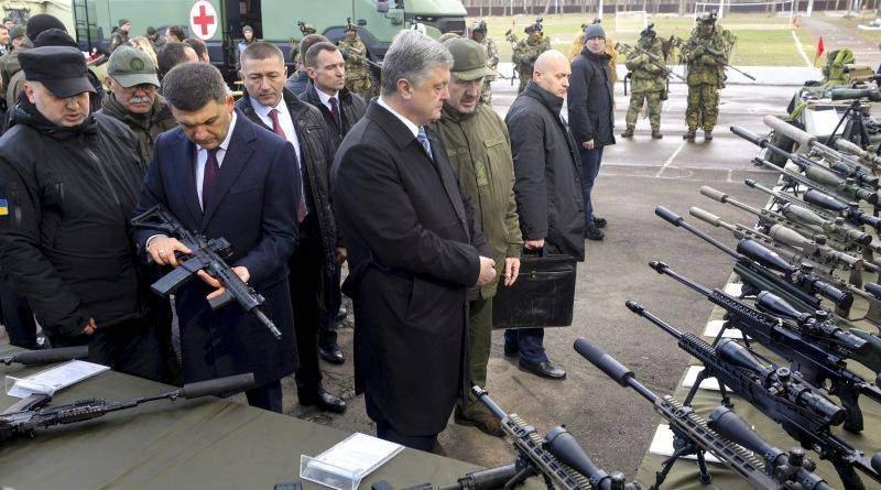 Президент взяв участь в урочистих заходах з нагоди 5-ї річниці Національної гвардії України (фото, відео)