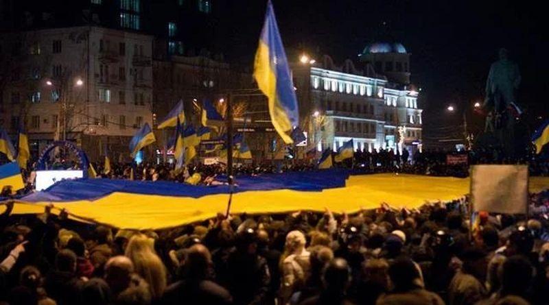 Сегодня ровно пять лет с нашего первого митинга в Донецке (фото, видео)