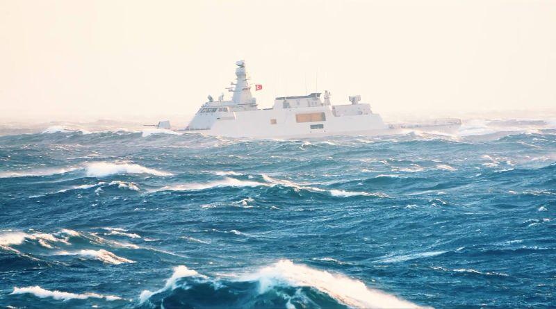 В Одеський порт зайшли два кораблі Військово-морських сил Турецької Республіки (фото)