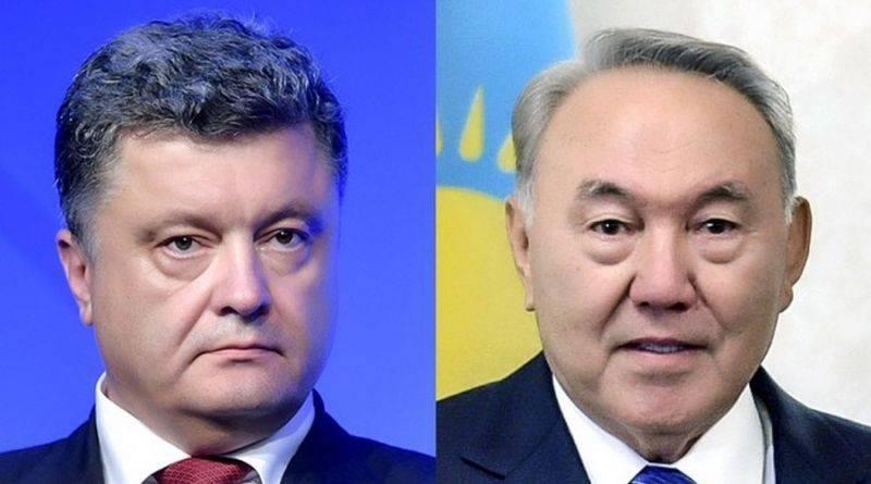 Президент провів телефонну розмову з Першим Президентом Казахстану Нурсултаном Назарбаєвим