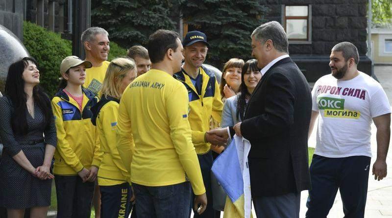 Президент зустрівся з учасниками Національної збірної «Invictus Games» (фото, відео)