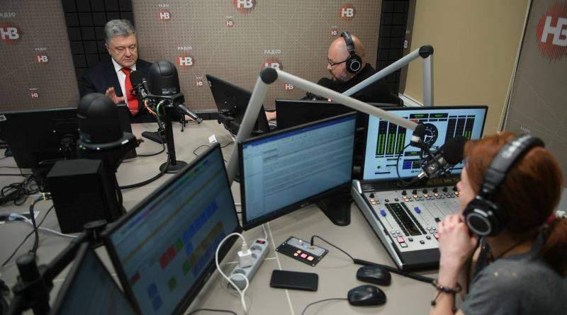 Президент дав інтерв'ю радіо НВ (фото, відео)