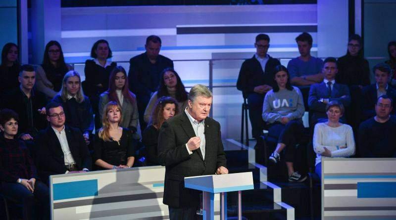 Президент України Петро Порошенко в телевізійних дебатах на «Суспільному телебаченні» (фото, відео)