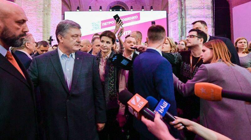 Заява Петра Порошенка за результатами першого туру президентських виборів (фото, відео)