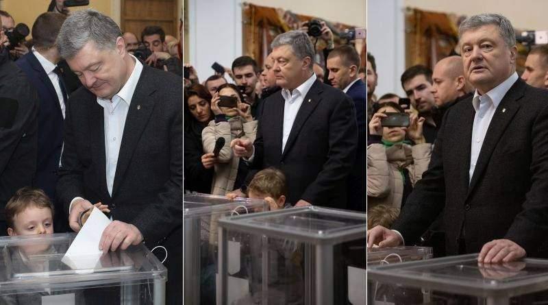 Дуже важливо не втратити країну – Президент з родиною взяв участь в голосуванні (фото, відео)