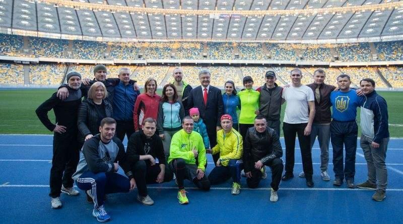 Глава держави відвідав підготовку української команди до «Ігор нескорених» (фото, відео)