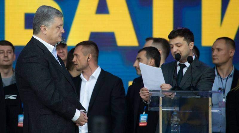 Петро Порошенко у дебатах з Володимиром Зеленським на НСК «Олімпійський» (фото, відео)