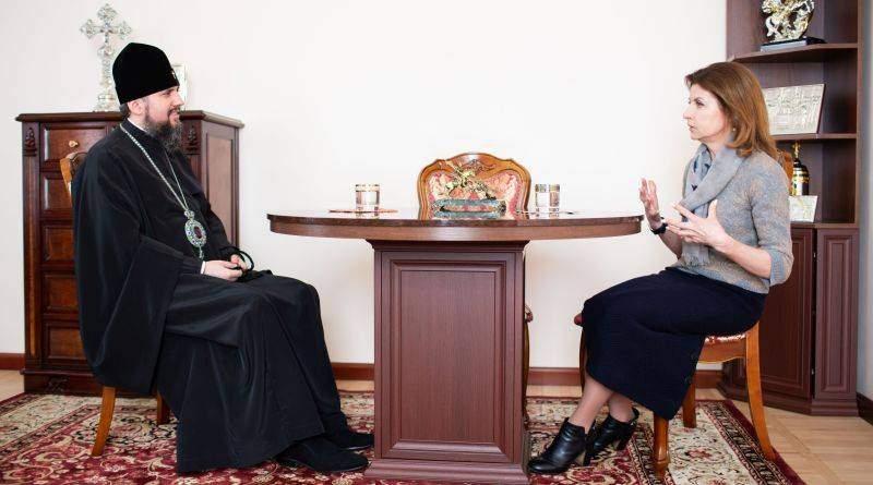 Марина Порошенко та Митрополит Епіфаній обговорили майбутнє України (фото)