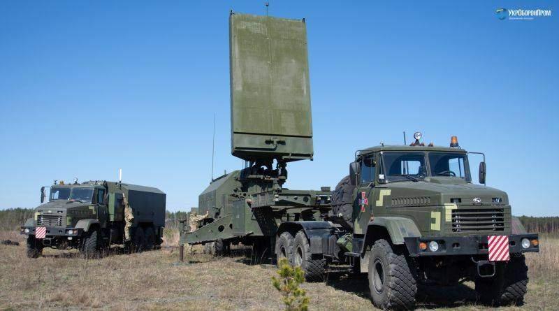 """Контрбатарейний радар 1Л220УК від """"Іскри"""" успішно завершив польові випробування (відео)"""