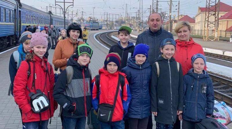 До Львова на оздоровлення прибули діти з району проведення ООС