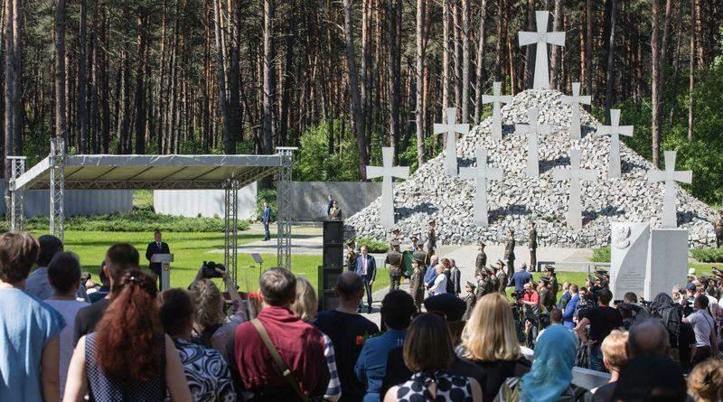 Виступ Президента України на церемонії вшанування пам'яті жертв політичних репресій (фото, відео)