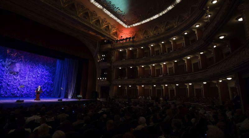 Петро Порошенко взяв участь у церемонії закриття Міжнародного конкурсу з української мови (фото, відео)