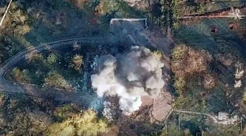 «Азов» знищив штаб окупантів (відео)