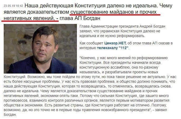 Права граждан как недостаток действующей Конституции Украины