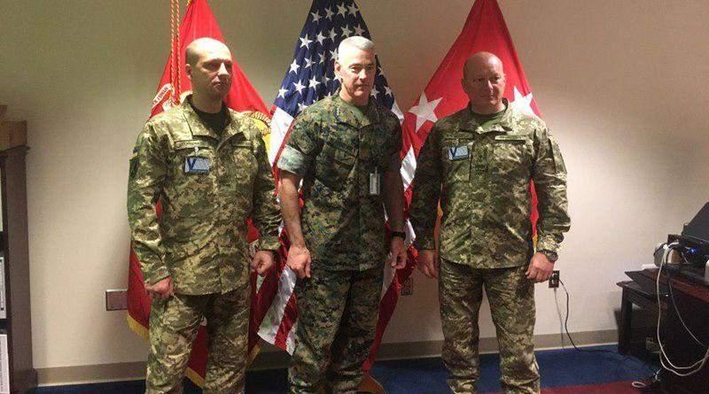 Командувач Морської піхоти ВМС ЗС України зустрівся з командантом Корпусу Морської піхоти США (фото)