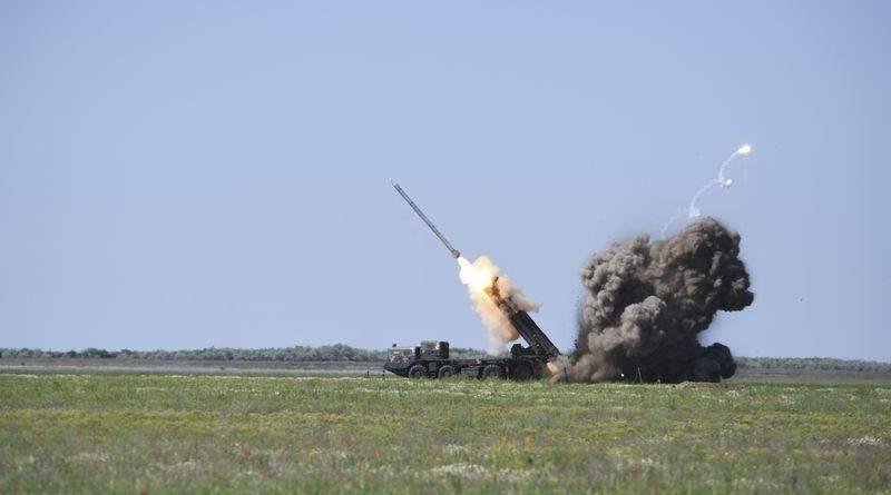 На Одещині  відбулися успішні випробування ракет «Вільха-М» та «Вільха-Р» (фото, відео)