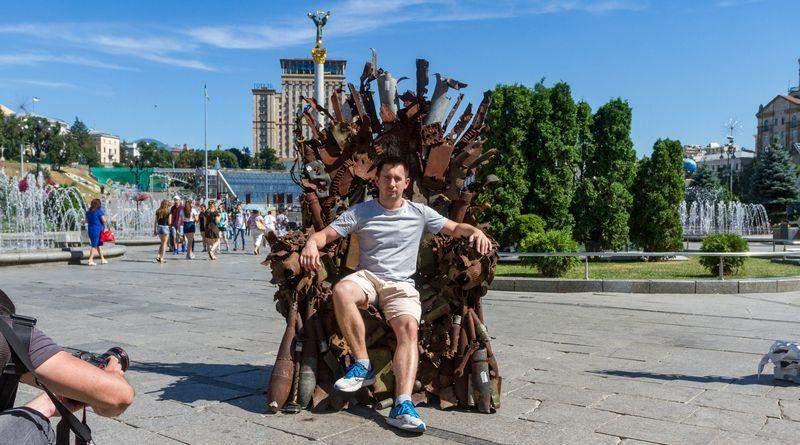 Щоби пам'ятали – Залізний Трон Сходу на Майдані (фото)