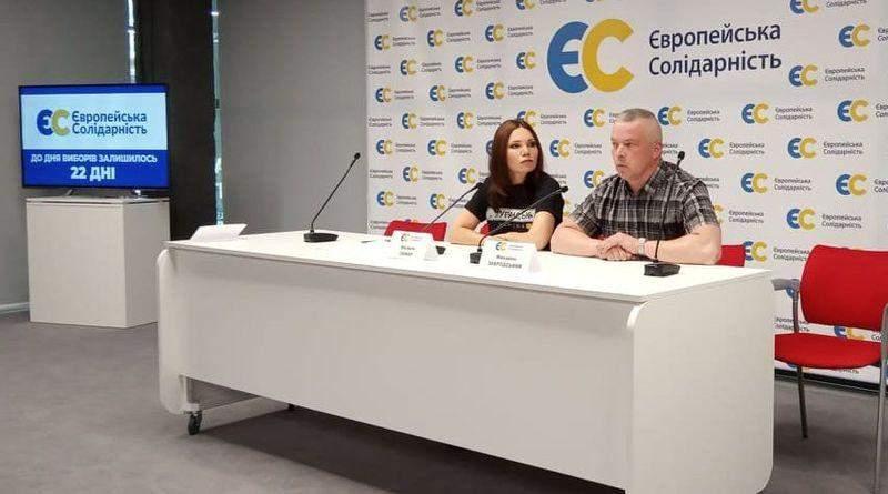 «Європейська Солідарність» заявляє про заплановані обшуки у «Відкритому офісі» партії (відео)