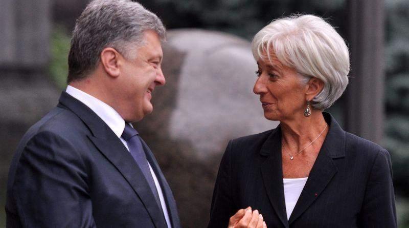 Крістін Лагард: За Президента Порошенка Україна повернулась до макроекономічної стабільності та зростання