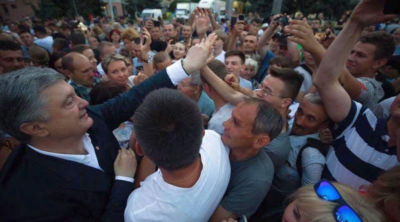 «Політичний спецназ» Петра Порошенка відвідав Рівненщину (фото, відео)