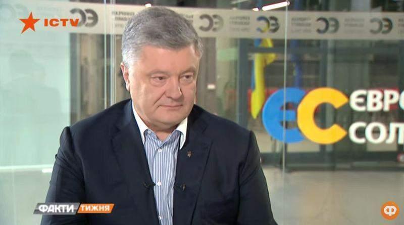 Ексклюзивне інтерв'ю Петра Порошенка на телеканалі ICTV 14.07.2019 р. (відео)