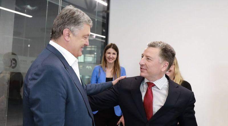 Петро Порошенко зустрівся з делегацією США на чолі з Куртом Волкером (фото, відео)