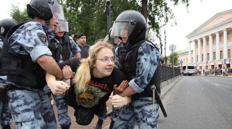 Шок от московских «протестов»