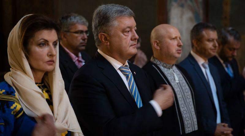 Участь П'ятого Президента України Петра Порошенка в урочистостях з нагоди Дня Незалежності (фото, відео)