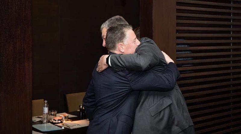 Петро Порошенко зустрівся з Куртом Волкером (фото)