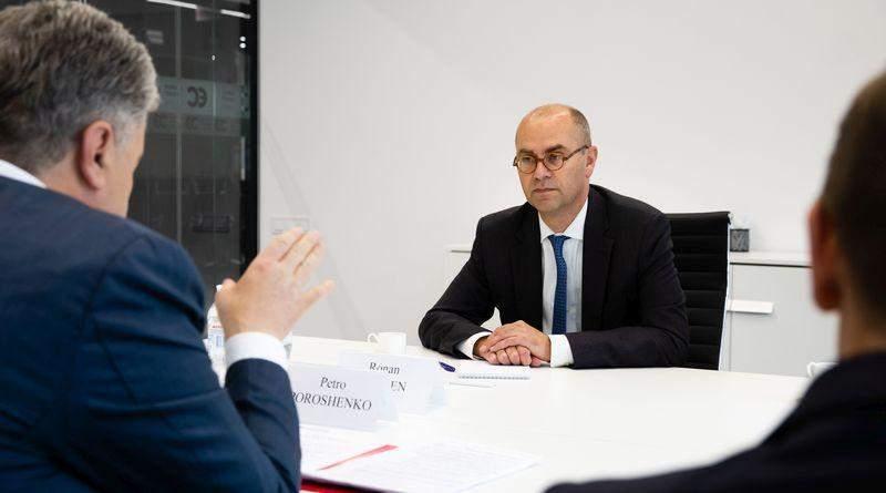 Петро Порошенко зустрівся з Місією МВФ в Україні (фото)