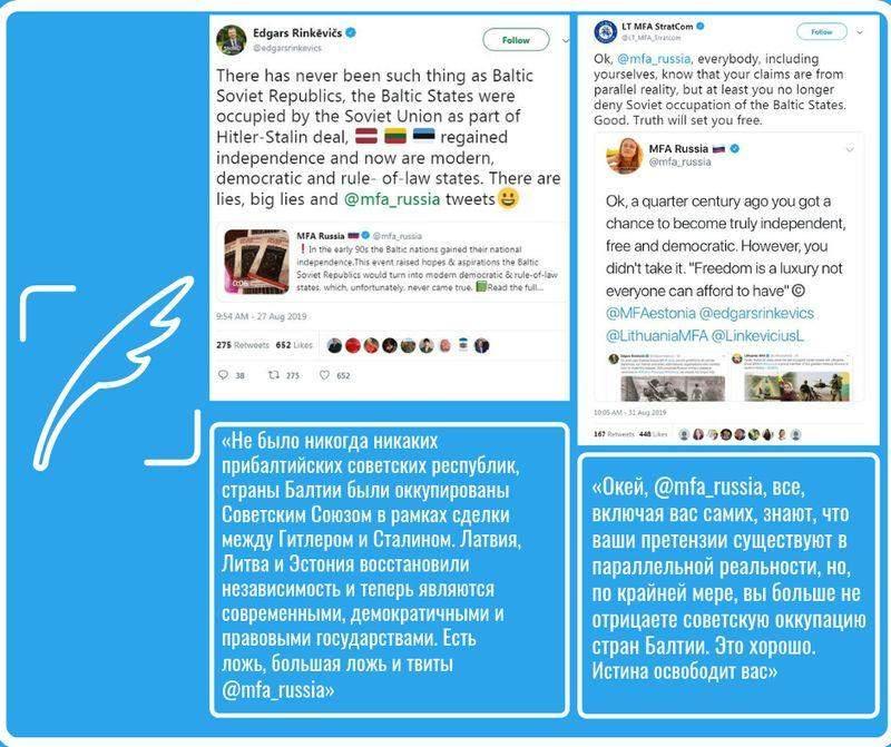 Обзор дезинформации пропагандистских СМИ – 07.09.2019