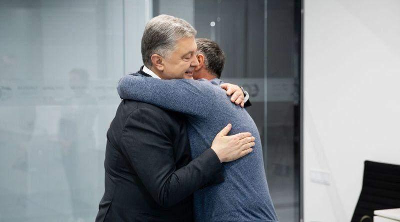 Петр Порошенко встретился с освобожденным из плена Евгением Пановым (фото, видео)