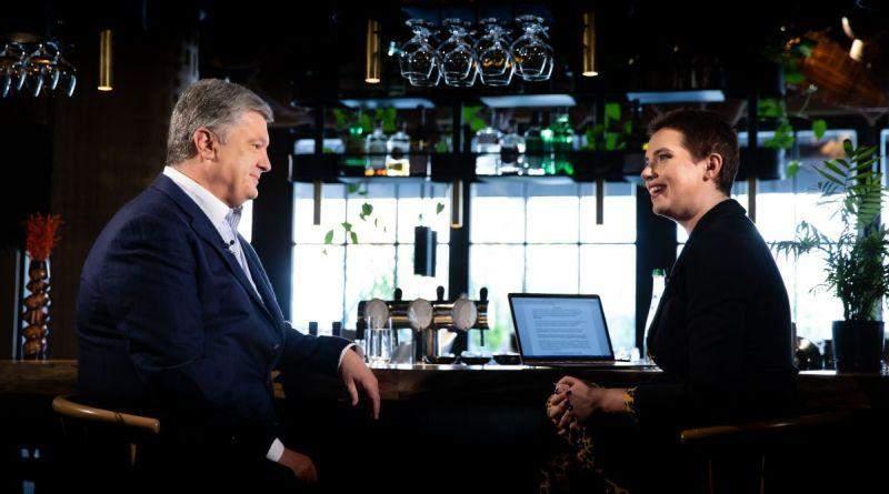 Петро Порошенко в програмі «Рандеву з Яніною Соколовою» (фото, відео)
