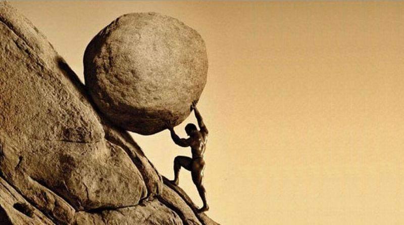 Камінь на горі