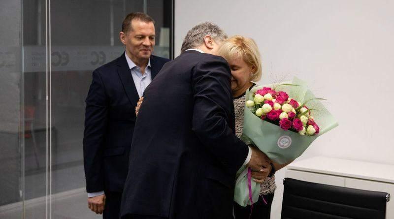 Петро Порошенко зустрівся з Володимиром Балухом і Романом Сущенком (фото, відео)