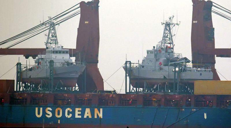 Американські катери типу «ISLAND» прибули до Одеси (фото, відео)