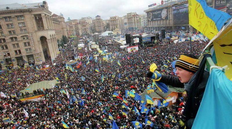 Атрибуты и проблемы украинского Майдана. Части 1 и 2