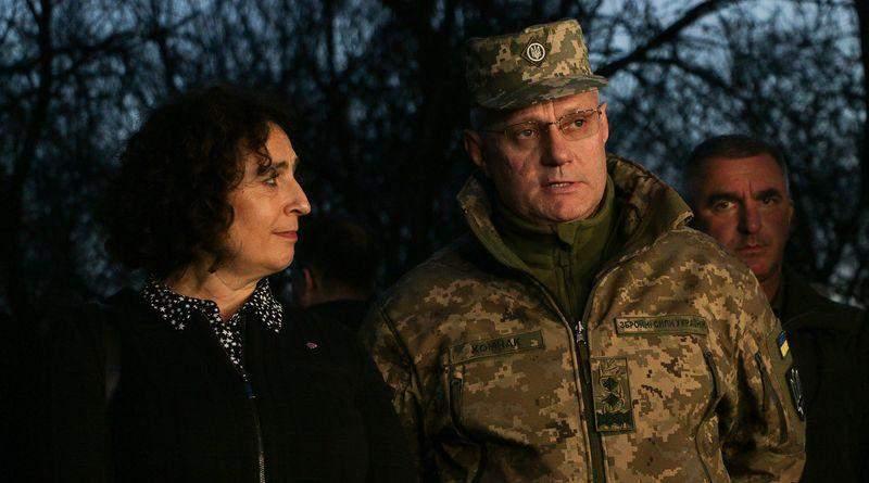Вечірній брифінг пресцентру Об'єднаних сил 07.11.2019 (фото)
