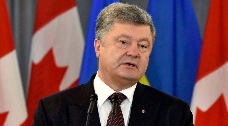 22-26 листопада Петро Порошенко здійснить візит до Канади