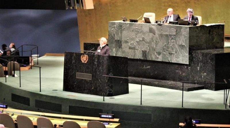Глава Мінветеранів розповіла в ООН про гуманітарні проблеми на тимчасово окупованих територіях України (фото)