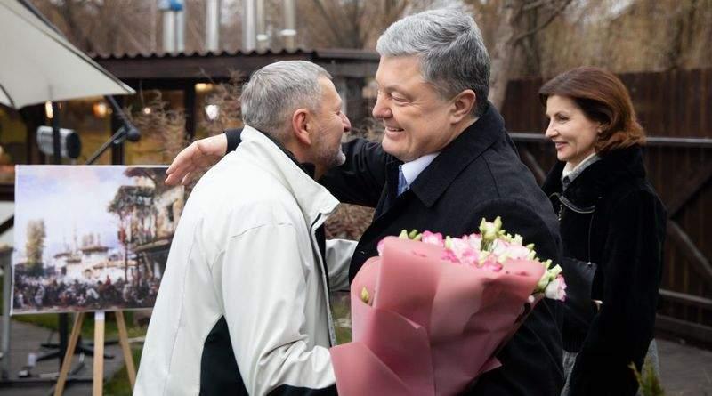 Петро Порошенко привітав Ахтема Чийгоза з ювілеєм (фото, відео)