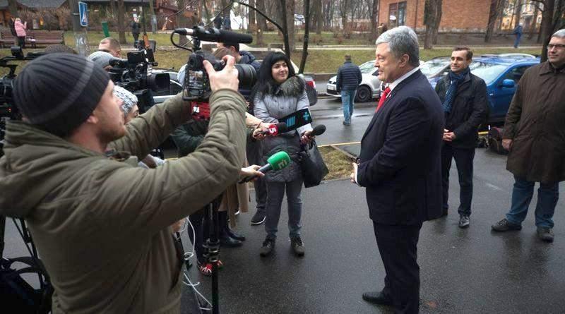 П'ятий президент України привітав українських дипломатів з професійним святом (фото, відео)