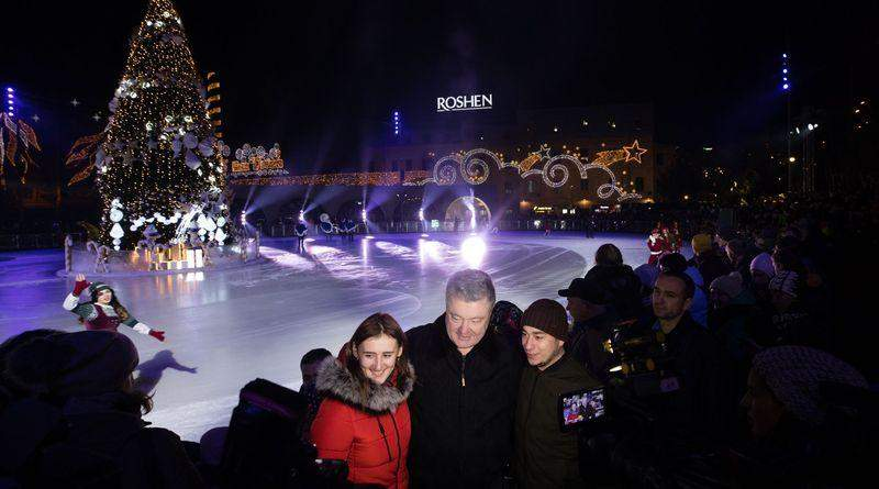 7 грудня відкрилась Головна новорічна ялинка Roshen Winter Village (фото, відео)